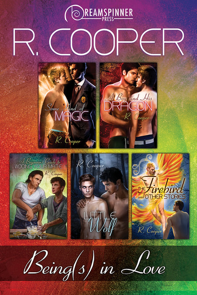 A collection of covers of the first five Beings in Love books.